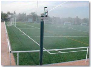 Водяная пушка rain gun SR 2005 в действии