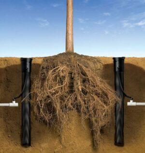 Пример правильной установки системы корневого полива RWS