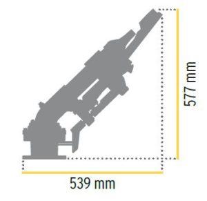Водная пушка для пылеподавления XLR 44